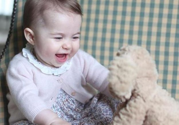 Le premier cadeau de Noël de la princesse Charlotte
