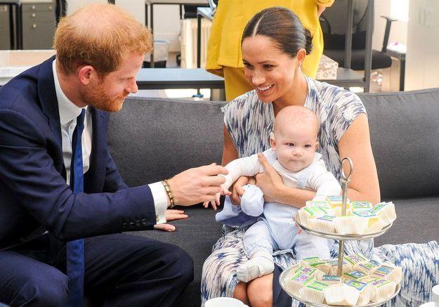 Le prince Harry : il retient ses larmes en évoquant Meghan Markle et leur fils Archie