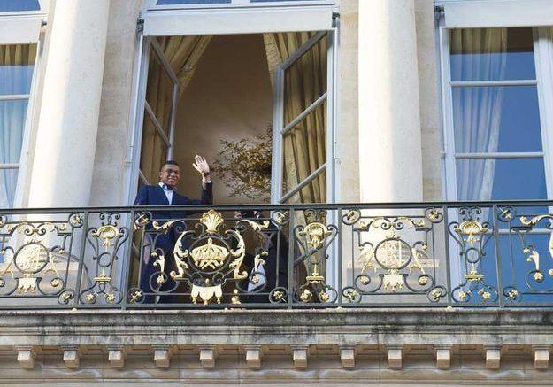 Kylian Mbappé au balcon !
