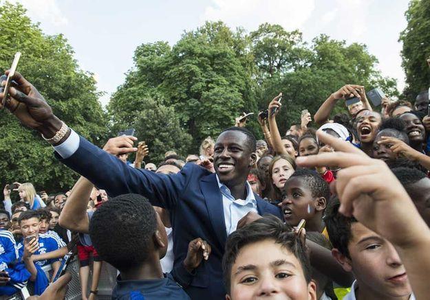 Selfie de groupe pour Ousmane Dembele