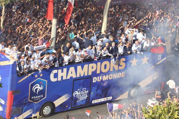 Le bus des champions du monde