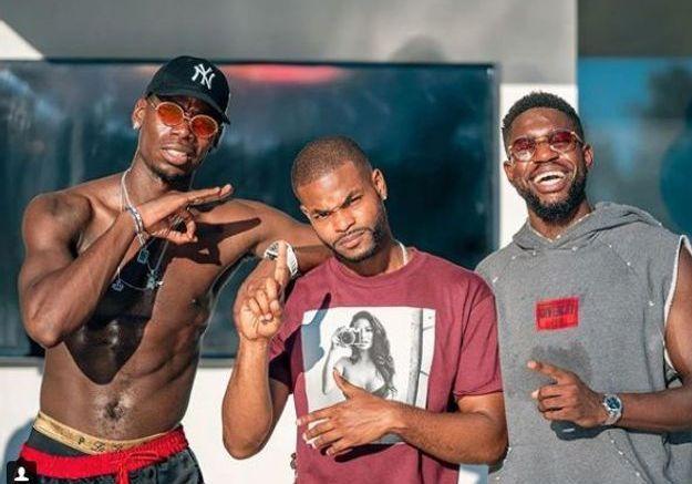Paul Pogba et Samuel Umtiti s'éclatent à Los Angeles avec un ami