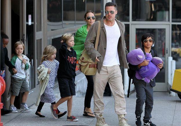 Les enfants d'Angelina Jolie et Brad Pitt veulent déjà se faire tatouer