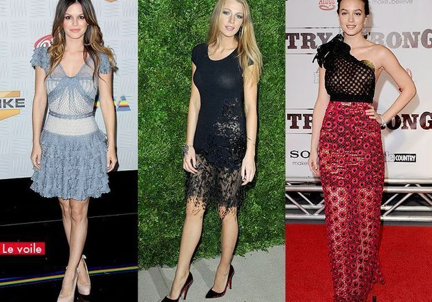 People mode tendance look printemps kate le voile