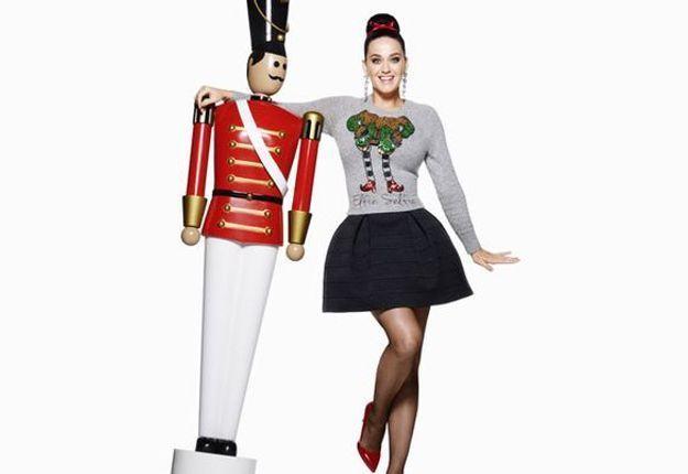 Le pull de Noël de Katy Perry