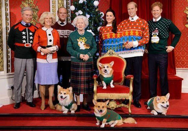 Les pulls de Noël de la famille royale