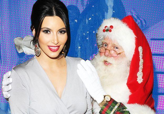 Les stars avec le père Noël : qui est la plus kitsch ?