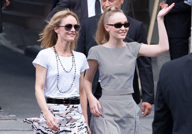 Lily-Rose Depp se confie sur Vanessa Paradis : « Je l'admire tellement »