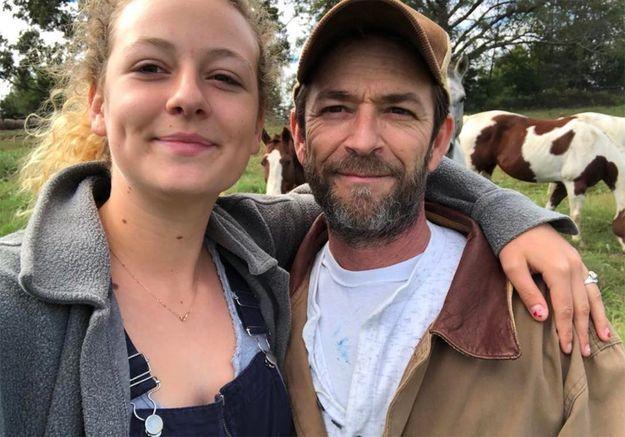 Luke Perry : le message émouvant de sa fille Sophie