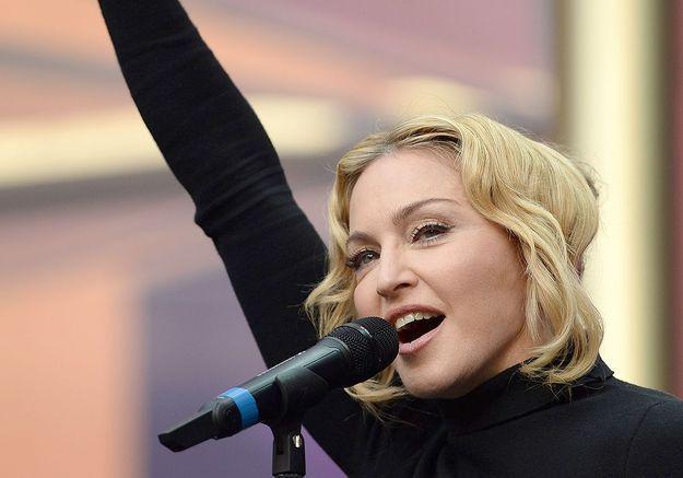 Madonna s'oppose à une intervention en Syrie