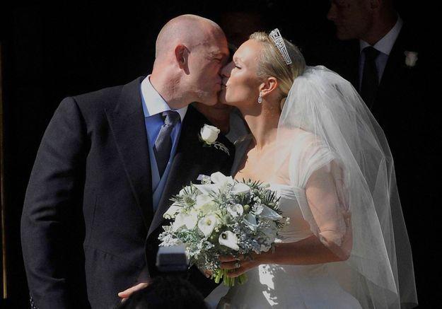 Mariage royal : Zara Phillips et Mike Tindall, la royale rebelle et son rugbyman