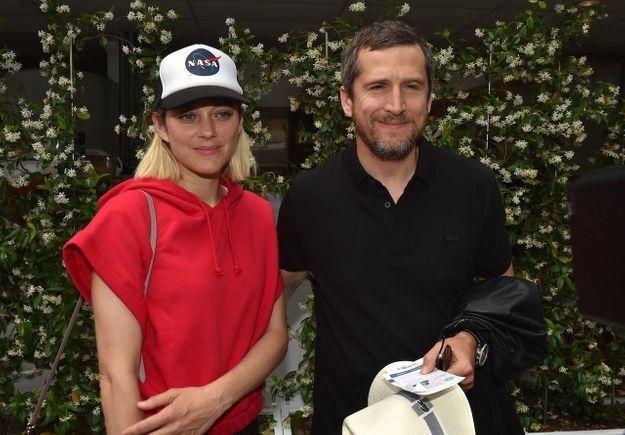 Le couple a pris la pose au village de Roland-Garros