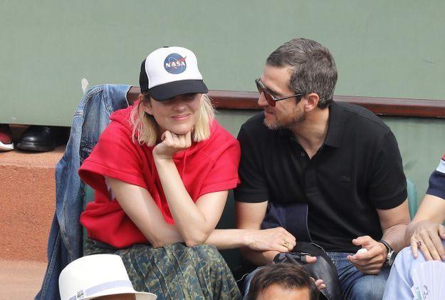 Le couple s'est accordé une petite sortie en amoureux à Roland-Garros