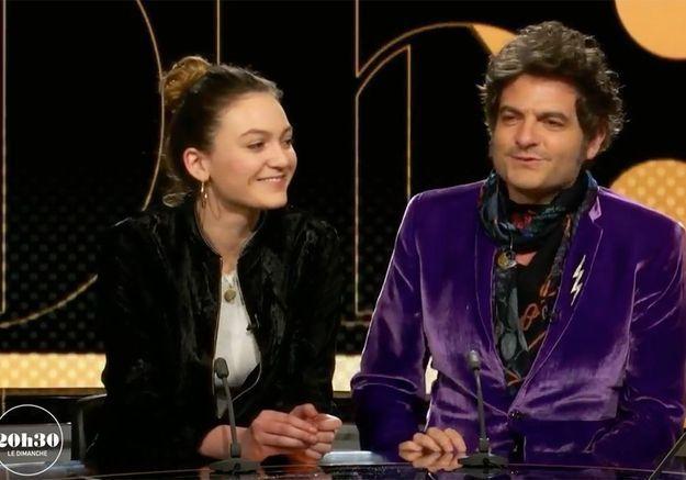 Matthieu Chedid et sa fille Billie : premier plateau télé à deux