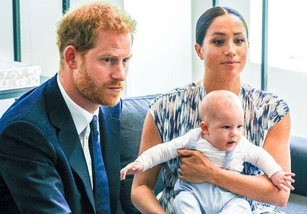 Meghan et Harry ont laissé Archie au Canada pour le protéger de la crise qui touche la famille royale