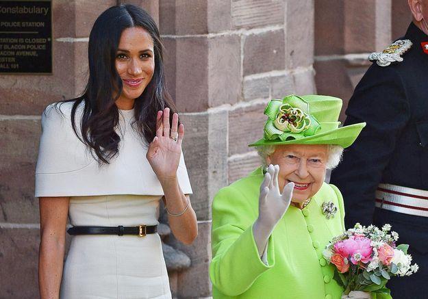 Meghan Markle : découvrez le très beau cadeau qu'elle a reçu de la part d'Elizabeth II