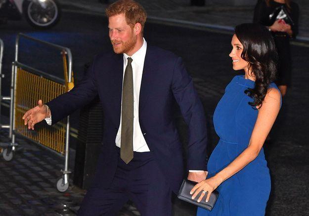 Meghan Markle enceinte : la robe qui lance la rumeur !