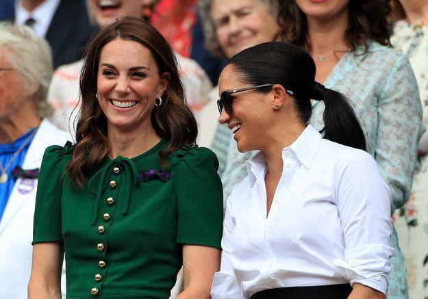 Meghan Markle et Kate Middleton n'ont jamais été aussi proches
