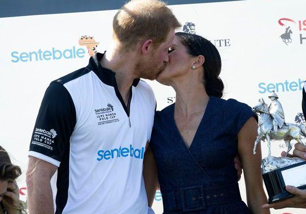 Le baiser de la victoire !