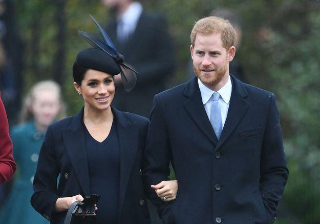 Meghan Markle et le prince Harry ont été acheter leur sapin de Noël