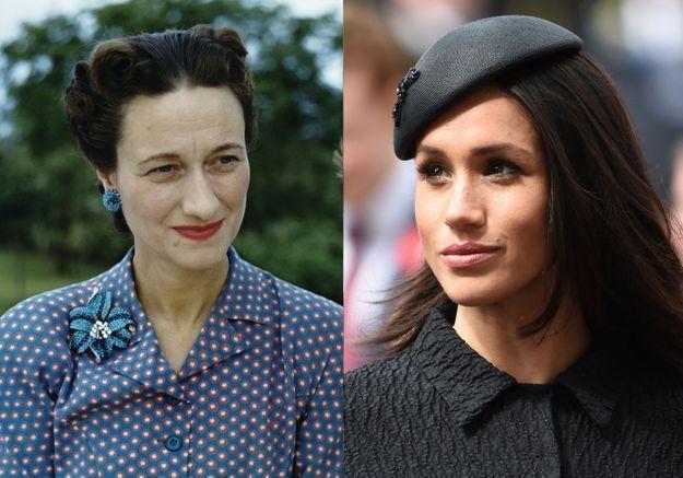 Meghan Markle et Wallis Simpson, les Américaines controversées de la monarchie britannique