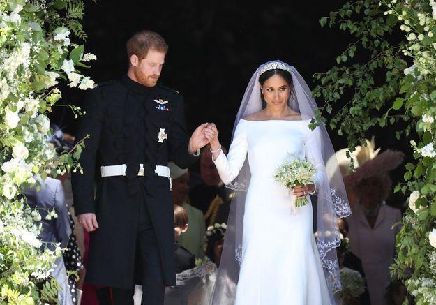 Meghan Markle : le détail très romantique de sa robe de mariée que personne n'avait remarqué