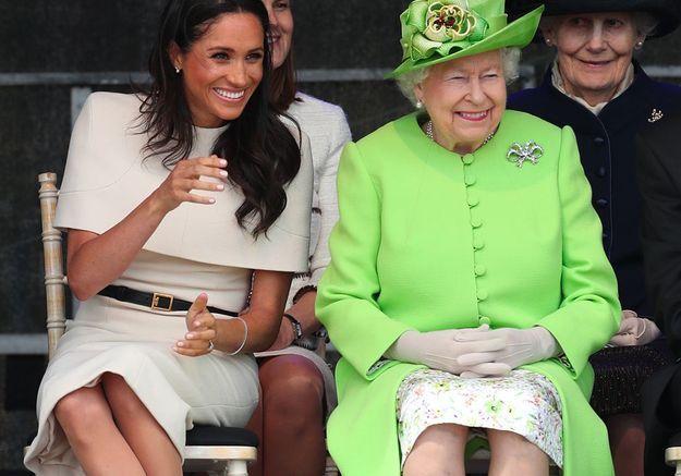 Meghan Markle : tête à tête complice avec la reine d'Angleterre !
