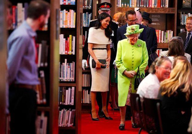 Meghan et Elizabeth II