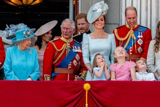 Première apparition au balcon de Buckingham Palace