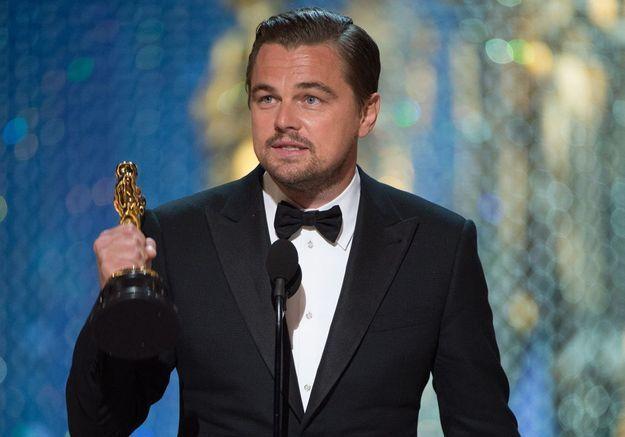 Leonardo DiCaprio reçoit enfin un Oscar