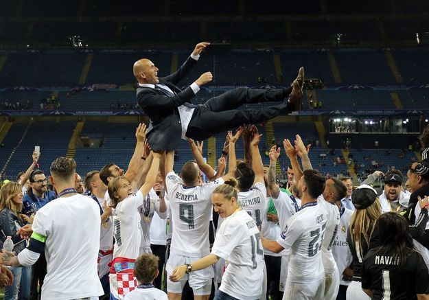 Zizou, le héros du Real de Madrid