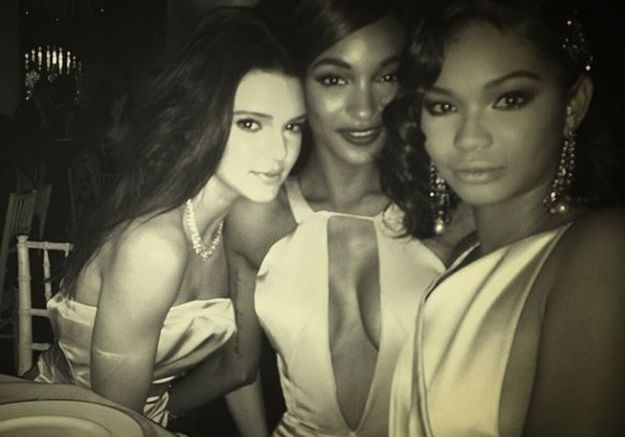 Kendall Jenner, Chanel Iman et Jourdan Dunn