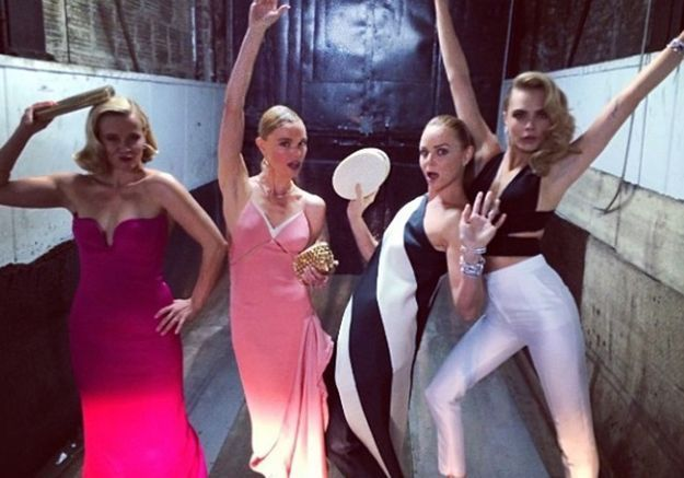 Reese Witherspoon, Kate Bosworth, Stella McCartney et Cara Delevingne