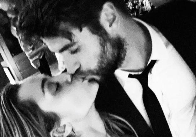 Miley Cyrus  les premières images de son mariage avec Liam Hemsworth  dévoilées