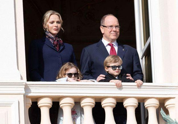 Monaco : les jumeaux Jacques et Gabriella avec leurs parents pour soutenir la lutte contre le Covid-19