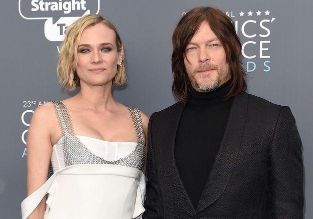 Norman Reedus dévoile un premier cliché de sa fille avec Diane Kruger