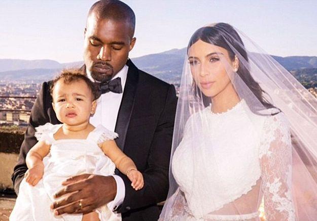 Au mariage de Kim et Kanye