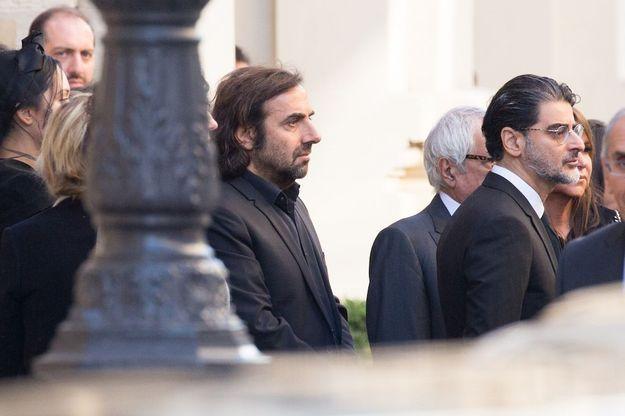 André Manoukian aux obsèques de Charles Aznavour