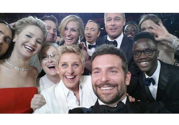 Oscars 2014, le selfie le plus partagé de l'histoire !