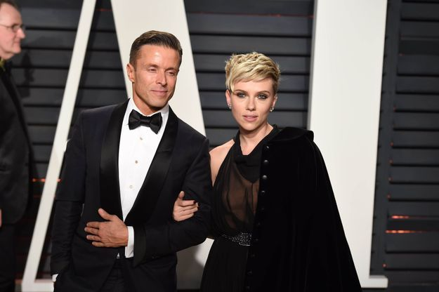Joe Machota et Scarlett Johansson