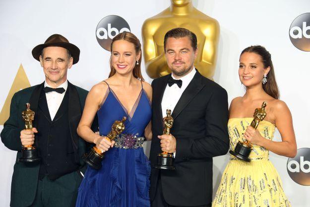 Oscars 2016 : les meilleurs gifs de la soirée