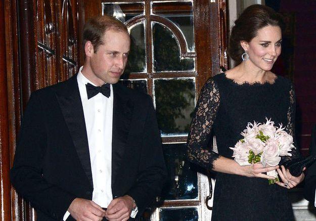 Pas de jean ni de baskets pour interviewer Kate et William