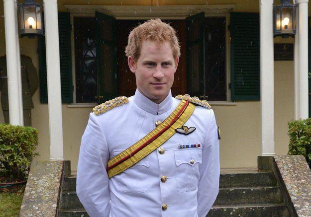 Pas de selfies pour le prince Harry