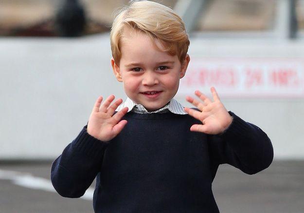 Le prince George en vidéo