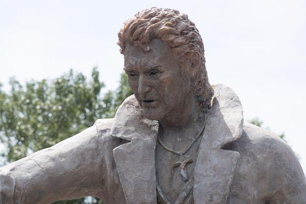 La statue de Johnny Hallyday