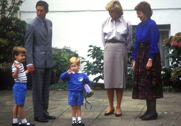 Le prince Harry à la crèche