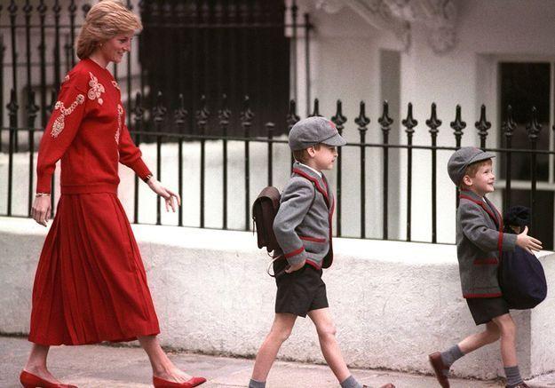 School run avec la princesse Diana