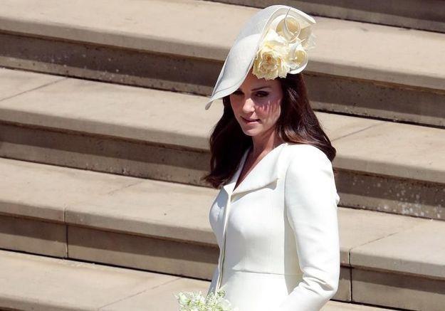 PHOTOS : Kate Middleton, resplendissante au mariage du prince Harry et Meghan