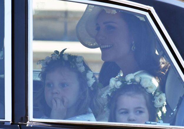 La princesse Charlotte en route vers la chapelle Saint-Georges
