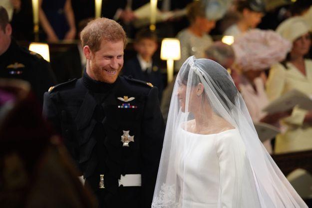 Le regard amoureux du prince Harry et Meghan Markle